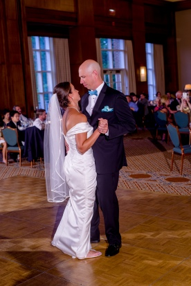 Carolina Club, Chapel Hill, NC: Mike and Virginia's First Dance