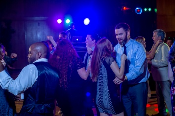 Carolina Club, Chapel Hill, NC: Dancing in the dark with DJ lights