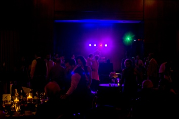 Carolina Club, Chapel Hill, NC: DJ lighting the dance floor