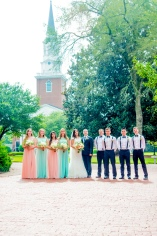 Christ Baptist Church Wedding, Raleigh NC Pre ceremony portraits at Southern Baptist Theological Seminary