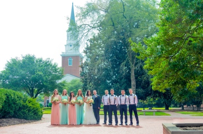 Christ Baptist Church Wedding, Raleigh NC: Southern Baptist Theological Seminary